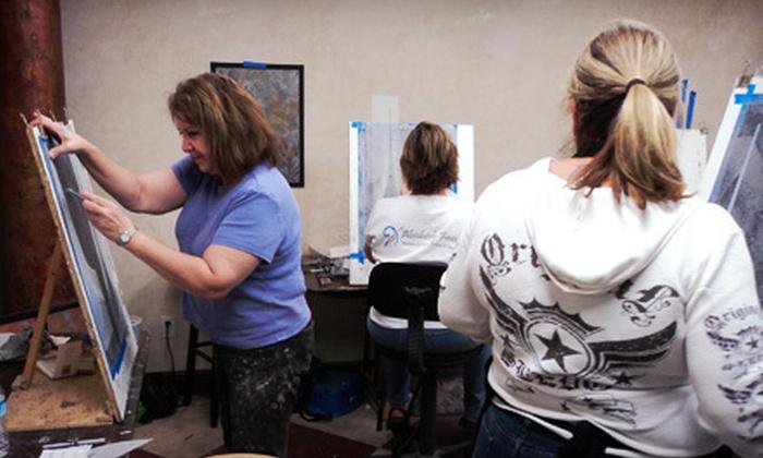 Artistic Painting Studio - Fresno: BYOB Stenciling or Faux-Finishing Class at Artistic Painting Studio (Up to 51% Off)