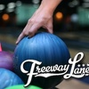 Up to 69% Off at Freeway Lanes