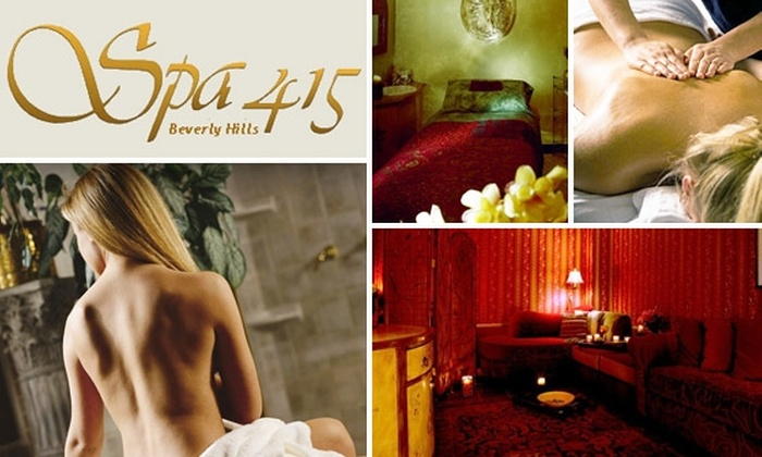 Spa 415 - Beverly Hills: $70 for $150 Toward Facials, Massages, Waxing, and More at Spa 415