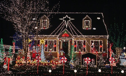 1 Ticket for a Holiday Lights Tour on Sat., Dec. 10 at 6:30PM (a $30 value) - Nebraska Party Bus in Omaha