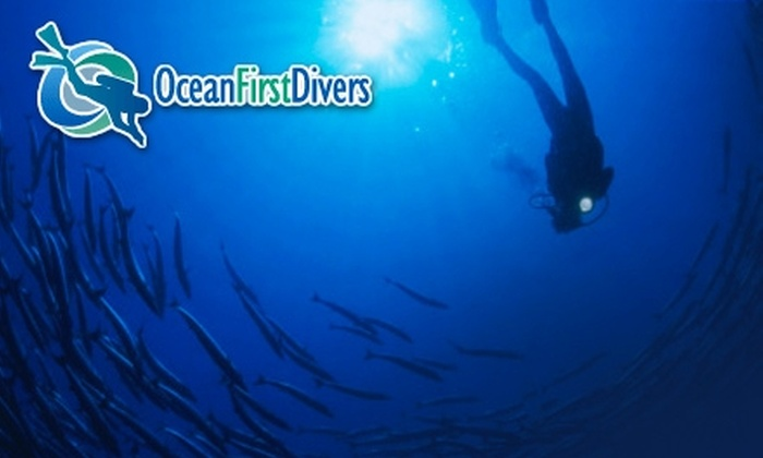 Ocean First Divers - Transit Village: $10 for a Discover-Scuba Experience at Ocean First Divers in Boulder ($20 Value)