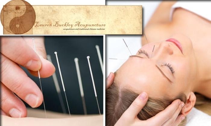 Lauren Buckley Acupuncture - Bella Vista/ Southwark: $40 for Private Acupuncture Session at Lauren Buckley Acupuncture ($80 Value)