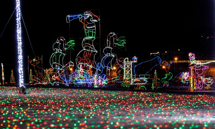 The Trolley Company - Hendersonville: $20 for a 90-Minute Christmas Lights Show for Two Adults from The Trolley Company ($30 Value)