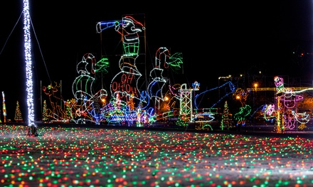 $20 for a 90-Minute Christmas Lights Show for Two Adults from The Trolley Company ($30 Value)