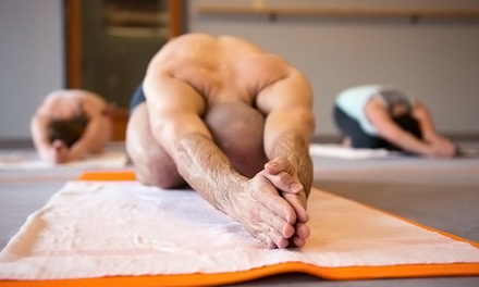 10 Hot Yoga Classes or Unlimited Classes for One Month or One Year at Bikram Yoga U-District (Up to 68% Off)