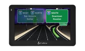 """Cobra 5"""" Pro Driver Navigation Gps With Lifetime Maps (manufacturer Refurbished)"""