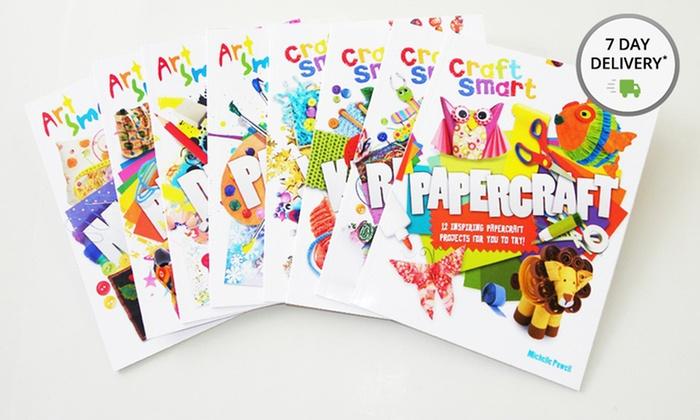 Busy Kids Art & Craft 8-Book Set: Busy Kids Art & Craft 8-Book Set