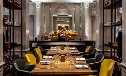 image for Three-Course Brunch with Bottomless Prosecco for One or Two at 5* Grand London Park Lane Hotel, Mayfair (Up to 21% Off)