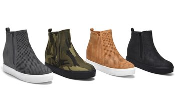 Olive Street Yasmin Hidden Wedge Sneaker | Groupon Exclusive