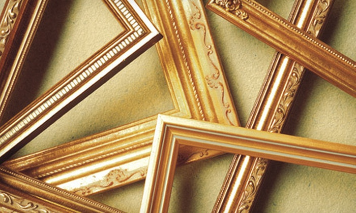 Art Frame Studio - Old Mountain View: $45 for $100 Worth of Custom Framing at Art Frame Studio in Mountain View