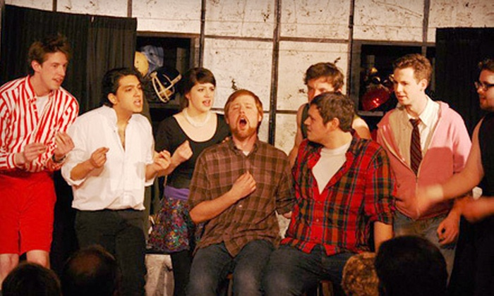 Octavarius - Lakeview: $20 for an Octavarius Sunday-Evening Comedy-Show Package for Two with Drinks at The ComedySportz Theatre ($44 Value)
