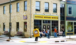 Housemade Mustard Or Guided Tour Including Personalized Mustard Case At National Mustard Museum (up To 51% Off)