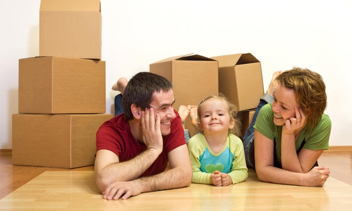 Winged Movers - Mid-City West: Three Hours of Moving Services from Winged Movers (55% Off)