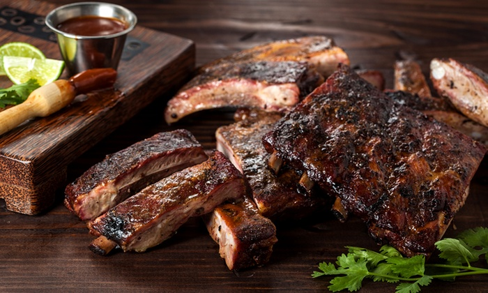 The Green Mesquite BBQ & More - Round Rock: Mesquite-Smoked Barbecue at The Green Mesquite BBQ & More (Up to 44% Off). Two Options Available.