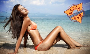 Beach Bum Tanning: Two Tanning Services at Beach Bum Tanning (72% Off). Three Locations Available.