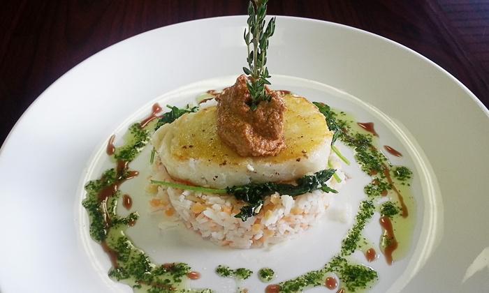 Chef Dions Restaurant - Lexington: Mediterranean Dinner for Two or Four at Chef Dions Restaurant (50% Off)