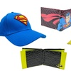 DC Comics and Marvel Superhero Hat and Wallet Sets (2-Piece)