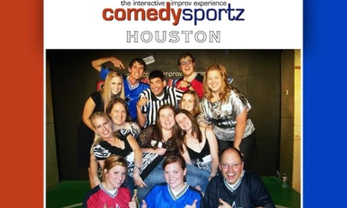 ComedySportz - Houston: $8 Ticket to Improv Show at ComedySportz