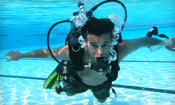 Gigglin' Marlin Divers - Greenway/ Upper Kirby: PADI Open Water Diver Certification Course or Discover Scuba Diving Course at Gigglin' Marlin Divers