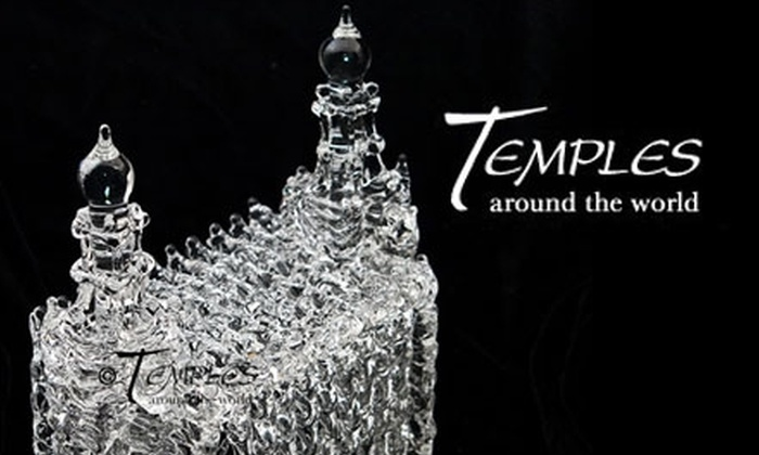 Temples Around the World - Salt Lake City: $14 for $30 Worth of Handcrafted Glass LDS Temple Sculptures or Glass-Repair Services at Temples Around the World