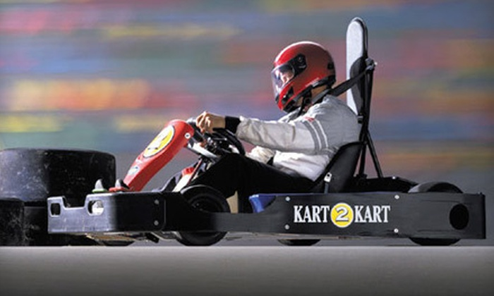 Kart 2 Kart - Sterling Heights: $49 for Go-Kart Outing with Six Races and Four Fountain Drinks at Kart 2 Kart in Sterling Heights ($108 Value)