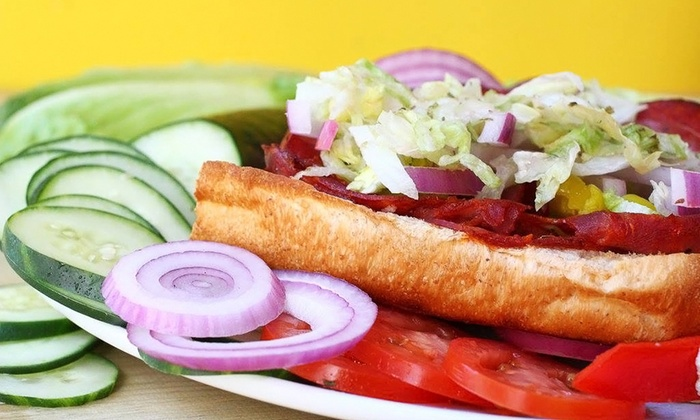 Planet Sub - Multiple Locations: $12 for Three Groupons, Each Good for $7 Worth of Sandwiches and Drinks at Planet Sub ($21 Value)