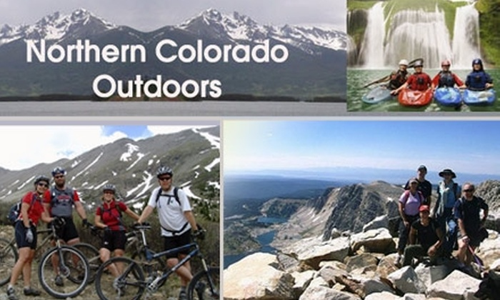 Northern Colorado Outdoors - Denver: $10 for 45-Day Outdoor Sport and Social Club Membership at Northern Colorado Outdoors ($25 Value)