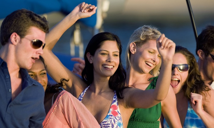 Yacht Party Chicago - Boarding at DuSable Harbor: $25 for Lake Michigan Booze Cruise on Friday, October 9, from Yacht Party Chicago ($39.15 Value)