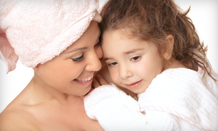 Candy Faces Mom & Me Spa - Overlea: Mother-Daughter Facial, Princess Pampering Package for Two, or Serenity Facial at Candy Faces Mom & Me Spa (Up to 61% Off)