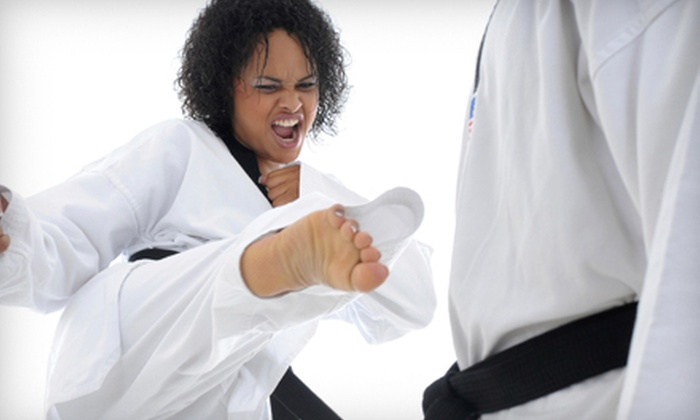 Elite Tae Kwon Do Academy - St. John'S: $15 for One Month of Tae Kwon Do, Women's Self-Defense, or Kickboxing Classes at Elite Tae Kwon Do Academy ($80 Value)