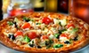 Pizza Bella - Beauclerc: Dinner with Drink and Dessert for Two or $10 for $20 Worth of Pizza, Subs, and Pasta at Pizza Bella