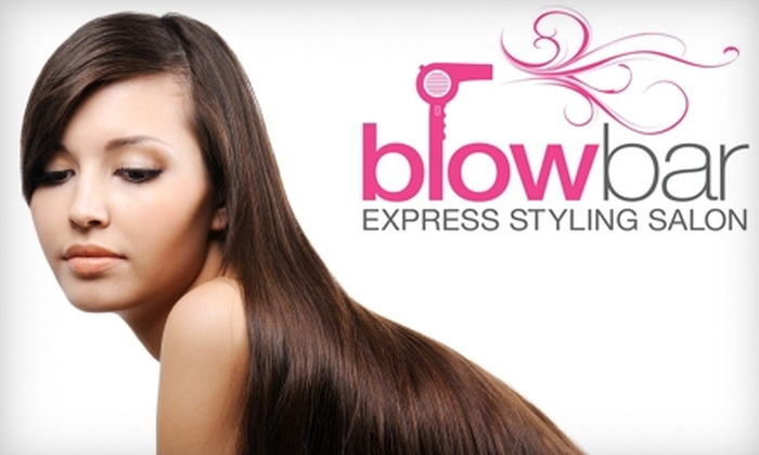 Blowbar Express Styling Salon - Grey Gables/Bon Air: $17 for a Wash and Blowout Hairstyling at Blowbar Express Styling Salon ($35 Value)