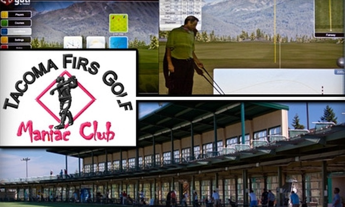 Tacoma Firs Golf Center - South Tacoma: $60 for Two Private Lessons for Two Players and a Round of 3-D Golf at Tacoma Firs Golf Center