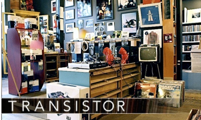Transistor - Uptown: $20 for $40 Worth of Eclectic Music, Art, Books, Electronics, and More at Transistor in Andersonville