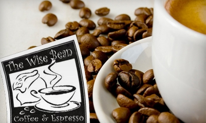 The Wise Bean - Bethlehem: $7 for a Medium Coffee and One Pound of Coffee Beans at The Wise Bean