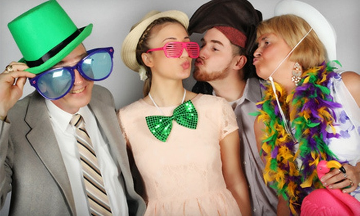 Studio Z Photography - Hartford: Three-Hour Photo-Booth Rental with Take-Home DVD and Option for Unlimited Prints from Studio Z Photography (Half Off)