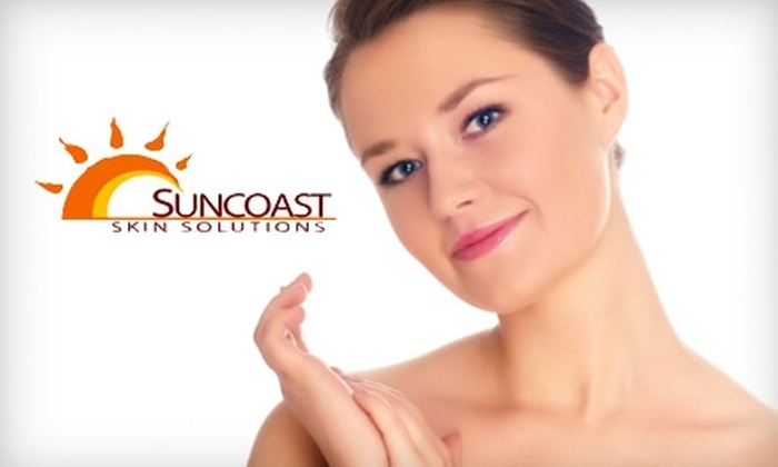 Suncoast Skin Solutions - Citrus Park-Fern Lake: $99 for Two Sunspot-Removal Treatments or One Broken-Blood-Vessel Treatment for the Face at Suncoast Skin Solutions in Lutz (Up to $665 Value)