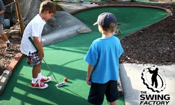 The Swing Factory - Woodstock: $29 for Two-Month Membership ($60 Value) or $7 for a Game of Mini Golf (Up to $18 Value) at The Swing Factory in Woodstock