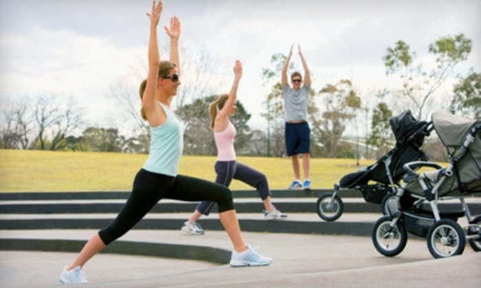 Hot Mamas Exercise - Multiple Locations: $37 for Five Studio, Stroller, or Outdoor Bootcamp Classes at Hot Mamas Exercise ($75 Value)