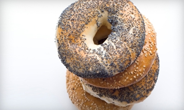 The Bagel Bin Cafe - Brighton: $5 for $10 Worth of Bagels, Sandwiches, and More at Bagel Bin Cafe