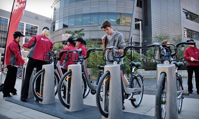 Bixi - Downtown Toronto: $47 for a One-Year Bike-Rental Membership to Bixi ($95 Value)