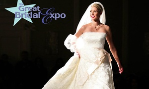 The Great Bridal Expo: Admission for Two, Four, Six, or Eight at The Great Bridal Expo (Up to 44% Off)
