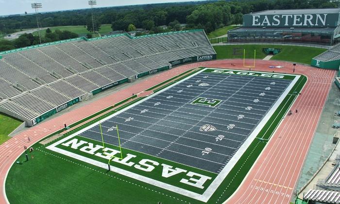 Eastern Michigan University Football - Rynearson Stadium: EMU Eagles Football Game Against Western Michigan on Thursday, October 29, at 7:30 p.m.