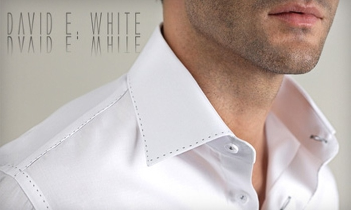 David E. White - Central London: $25 for $50 Worth of Dry Cleaning and Tailoring Services at David E. White