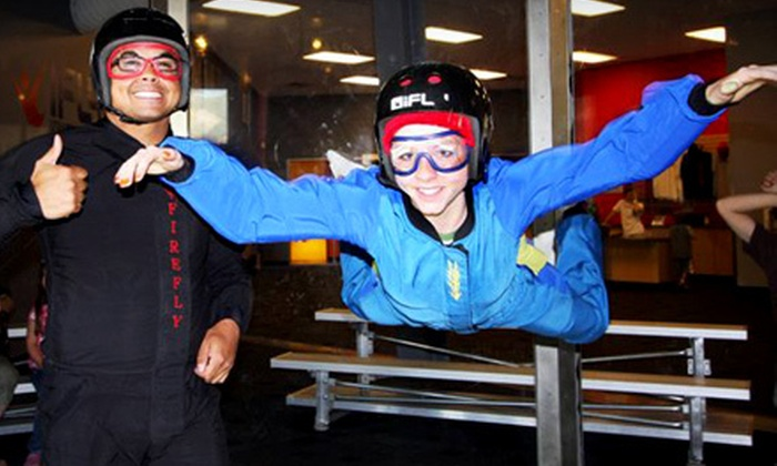 iFly Utah, Flowrider, & iRock Utah - Ogden Central Buisness District: $49 for Indoor Skydiving, Indoor Surfing, and Indoor Rock Climbing at iFly Utah, Flowrider, and iRock Utah ($89 Value)