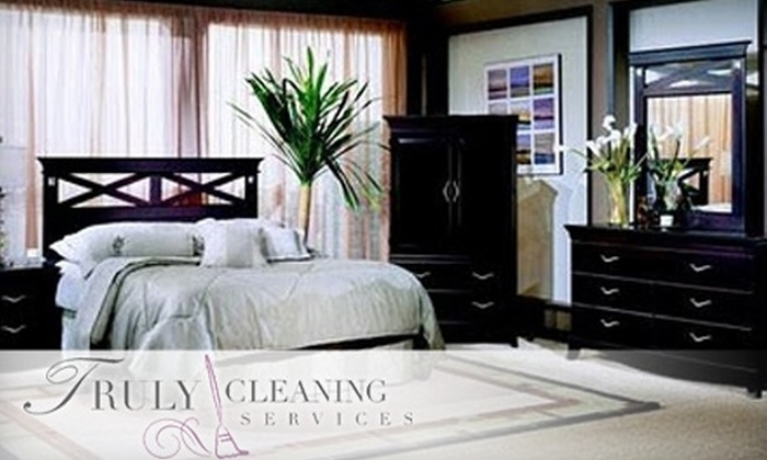 Truly Cleaning Services - Downtown: $40 for 90 Minutes of Cleaning from Two Professionals with Truly Cleaning Services (Up to $90 Value)