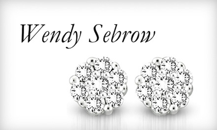 Wendy Sebrow - Englewood: $250 for One Pair of Diamond Earrings from Wendy Sebrow ($475 Value)