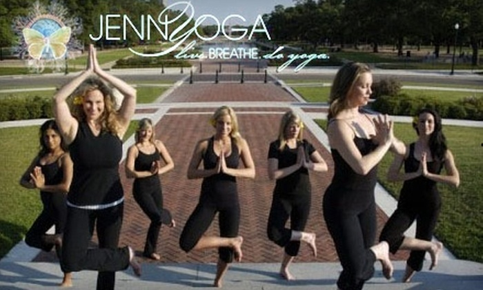 Jennyoga - Greenway/ Upper Kirby: $30 for Six Yoga Classes with JennYoga ($90 Value)