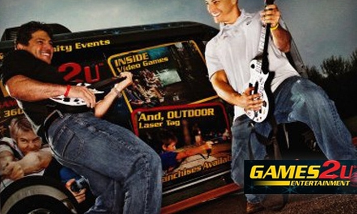 Games2U - Springfield, MA: $149 for a 90-Minute Video Game Party from Games2U ($379 Value)