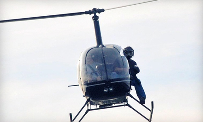 Lonestar Helicopter Hunter - San Marcos: $75 for a Paintball Helicopter Gunner Adventure at Lonestar Helicopter Hunter in San Marcos ($150 Value)